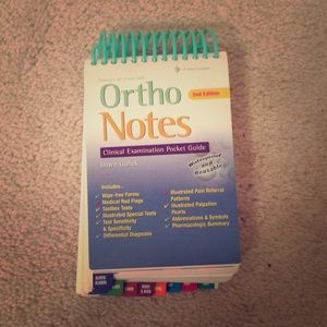 Ortho Notes Pocket Guide for Physical Therapists